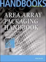 Cover of: Area Array Packaging Handbook | Ken Gilleo