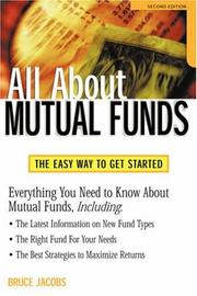 Cover of: All About Mutual Funds | Bruce Jacobs