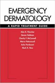 Cover of: Emergency Dermatology  | Jr., Alan B. Fleischer