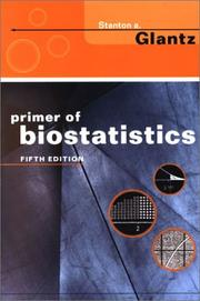 Cover of: Primer of Biostatistics