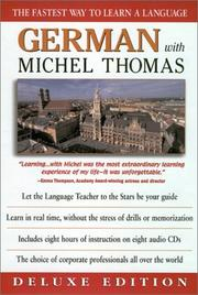 Cover of: German with Michel Thomas | Michel Thomas