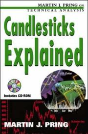 Cover of: Candlesticks Explained | Martin J. Pring