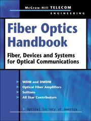Cover of: Fiber Optics Handbook