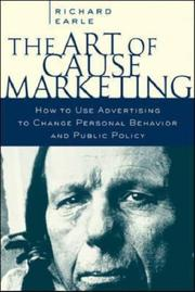 The Art of Cause Marketing by Richard Earle