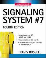 Cover of: Signaling system #7 | Travis Russell