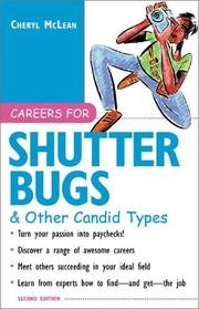 Cover of: Careers for Shutterbugs & Other Candid Types (Vgm Careers for You Series)