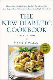 Cover of: The New Diabetic Cookbook, Fifth Edition  | Mabel Cavaiani