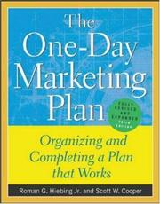 Cover of: The One-Day Marketing Plan  | Roman G. Hiebing