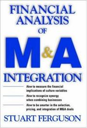 Cover of: Financial Analysis of M&A Integration