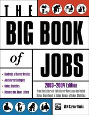 Big Book of Jobs 2003-2004