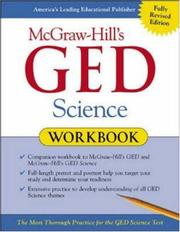 Cover of: McGraw-Hill's GED Science Workbook by Robert Mitchell