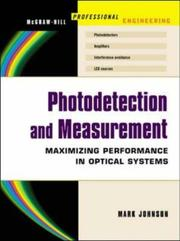 Cover of: Photodetection and Measurement | Mark Johnson