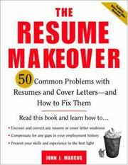 Cover of: The Resume Makeover | John Marcus