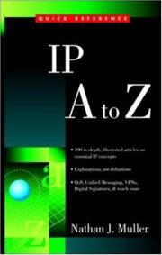 Cover of: IP A to Z | Nathan J. Muller
