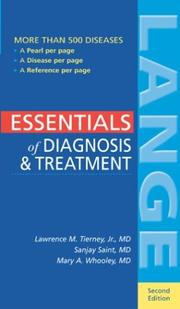 Cover of: Essentials of Diagnosis & Treatment, 2nd ed. (Book & PDA Combo)