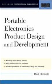 Cover of: Portable electronics product design and development by