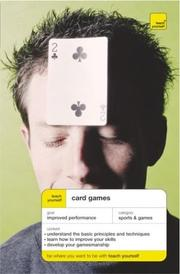 Cover of: Card games