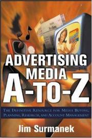 Cover of: Advertising Media A-to-Z