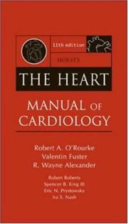 Cover of: Hurst's The Heart Manual of Cardiology (Hurst's the Heart)