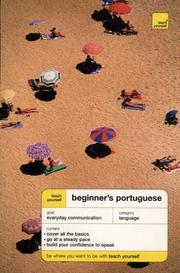 Cover of: Teach Yourself Beginner's Portugese