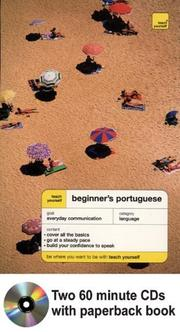 Cover of: Teach Yourself Beginner's Portugese Audiopackage