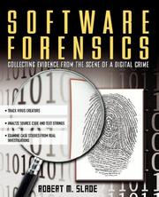 Cover of: Software Forensics  | Robert Slade