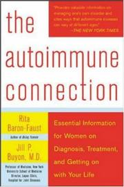 Cover of: The Autoimmune Connection | Rita Baron-Faust