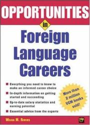 Opportunities in Foreign Language Careers (Opportunities in)