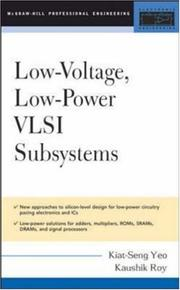 Cover of: Low Voltage, Low Power VLSI Subsystems | Kiat-Seng Yeo