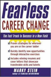 Cover of: Fearless Career Change | Marky Stein