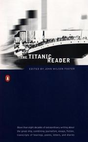 Cover of: Titanic | edited by John Wilson Foster.