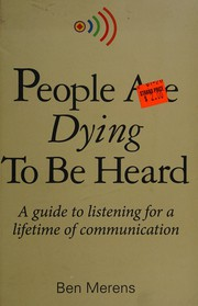 People are dying to be heard
