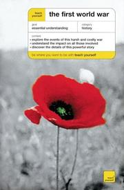 Cover of: Teach Yourself The First World War (Teach Yourself) | David Evans