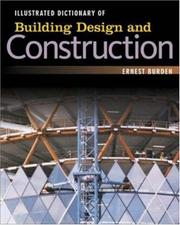 Cover of: Illustrated Dictionary of  Building Design and Construction | Ernest Burden