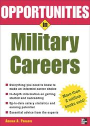 Cover of: Opportunities in Military Careers, revised edition (Opportunities in)