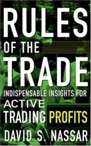 Cover of: Rules of the Trade | David S. Nassar