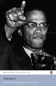 Cover of: The Autobiography of Malcolm X