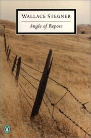 Cover of: Angle of repose | Wallace Stegner