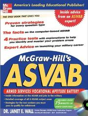 McGraw-Hills ASVAB with CD-Rom (McGraw-Hills ASVAB (W/CD))