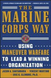 Cover of: The Marine Corps Way | Jason A. Santamaria