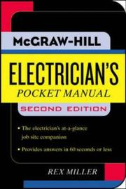 Electricians Pocket Manual (Pocket References (McGraw-Hill))