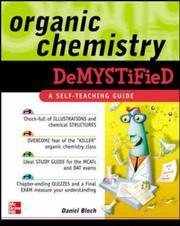 Cover of: Organic chemistry demystified | Daniel Bloch