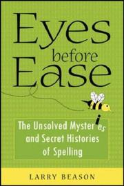 Cover of: Eyes before ease