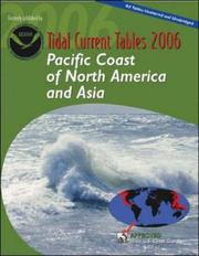 Cover of: Tidal Current Tables 2006 | NOAA