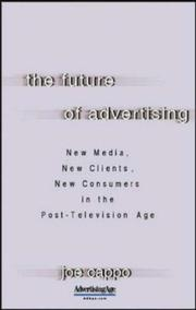 Cover of: The Future of Advertising | Joe Cappo