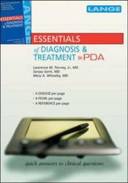 Cover of: Current Essentials of Medicine for the PDA (Mobile Consult)