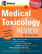 Cover of: Medical Toxicology Exam Review (Pearls of Wisdom) | Michael Greenberg