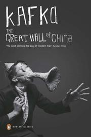Cover of: The great wall of China: stories and reflections