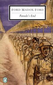 Cover of: Parade's End