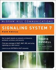 Cover of: Signaling System #7, Fifth Edition (McGraw-Hill Communications Series) | Travis Russell